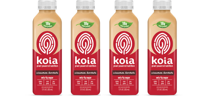Drink Spotlight: Koia Cinnamon Horchata Plant Powered Protein Drink
