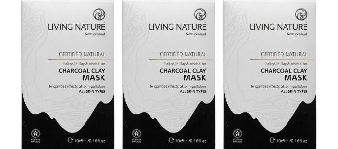 Skin Care Spotlight: Living Nature Charcoal Clay Mask