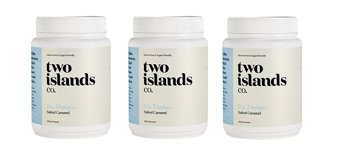 Supplement Spotlight: Two Islands Co. Salted Caramel Pea Protein Powder