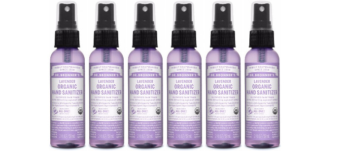 Personal Care Spotlight: Dr. Bronner's Organic Hand Sanitizer