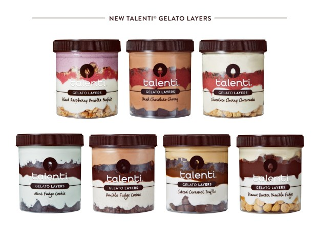 Talenti® Gelato & Sorbetto Gives Fans the Ultimate Gelato Indulgence with New Talenti Gelato Layers