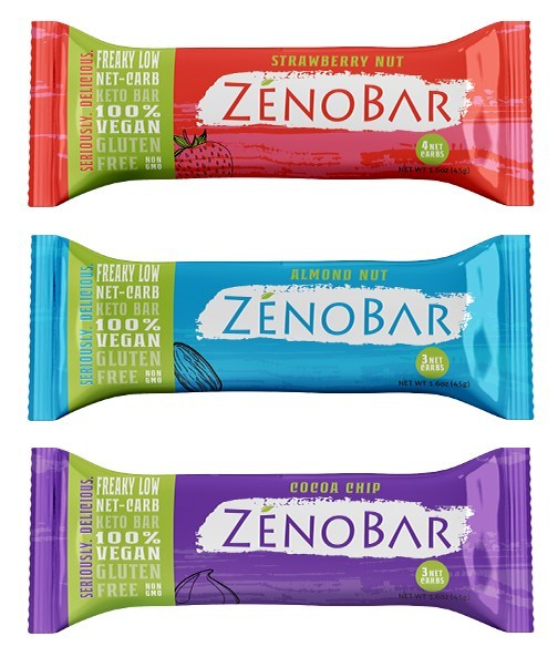 The First Low Net-Carb Keto + Vegan Bar