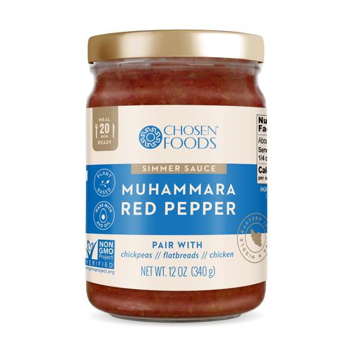 Simmer Sauce - Muhummara Red Pepper