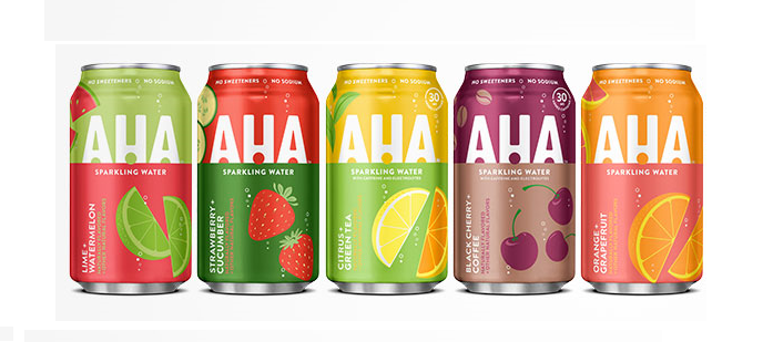 Drink Spotlight: Coca Cola  launches AHA to Bring More Fizz, Flavor and Fun