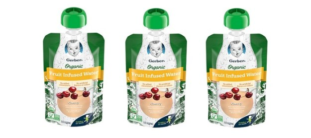 Gerber Organic Fruit Infused Water