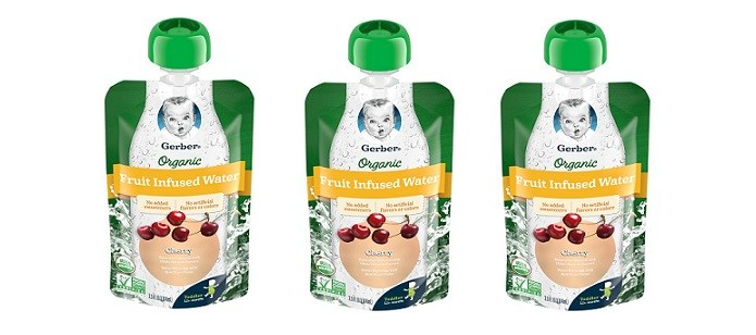 Baby Spotlight: Gerber® Organic Fruit Infused Water Provides Summertime Hydration Toddlers Will Love