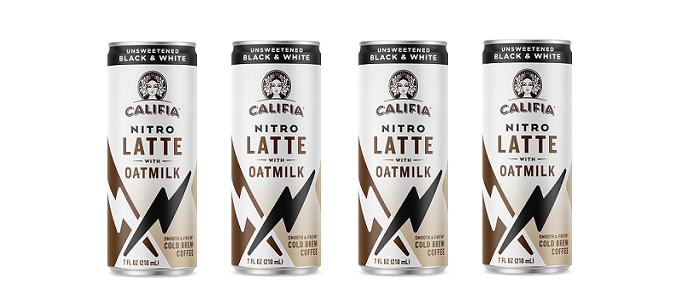 Drink Spotlight: Califia Black & White Nitro Draft Oatmilk Latte