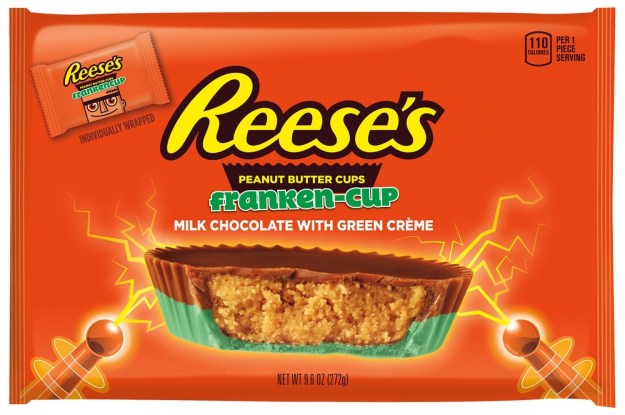 Reese's Franken-Cup Peanut Butter Cups