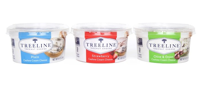 New Cashew Cream Cheeses from Treeline Cheese
