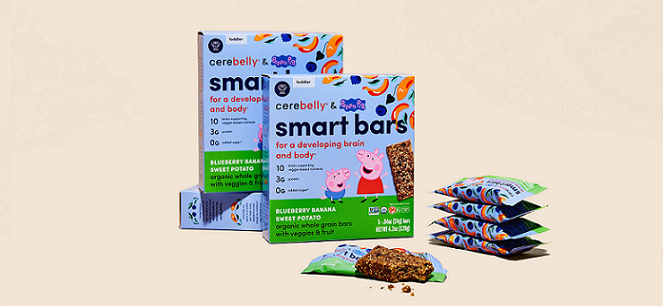 Bar Spotlight: Cerebelly, The Science-Backed Children's Food Brand Launches Smart Bars
