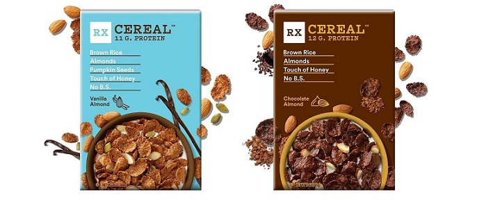 Cereal Spotlight: RXBAR expands into breakfast cereal category with three delicious flavors made with simple ingredients and 11-12 grams of plant-based protein per serving, now available nationwide