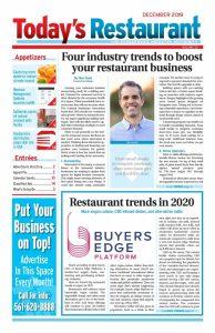 Restaurant industry news