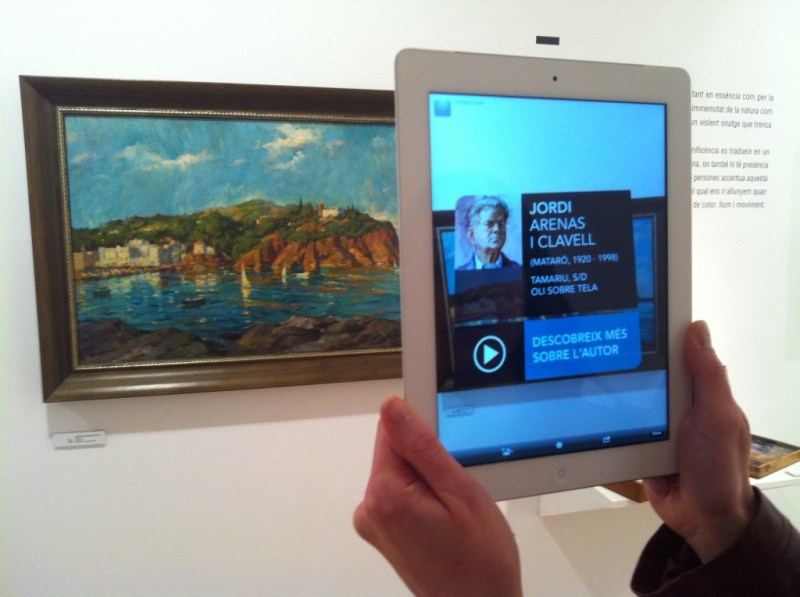 museum augmented reality app