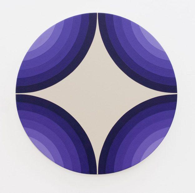 4 Circles Make A star, Purple Version