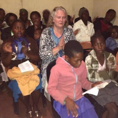 Church service at Concession Church outside Harare, Zimbabwe