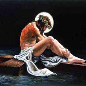 Jesus forlatt på korset