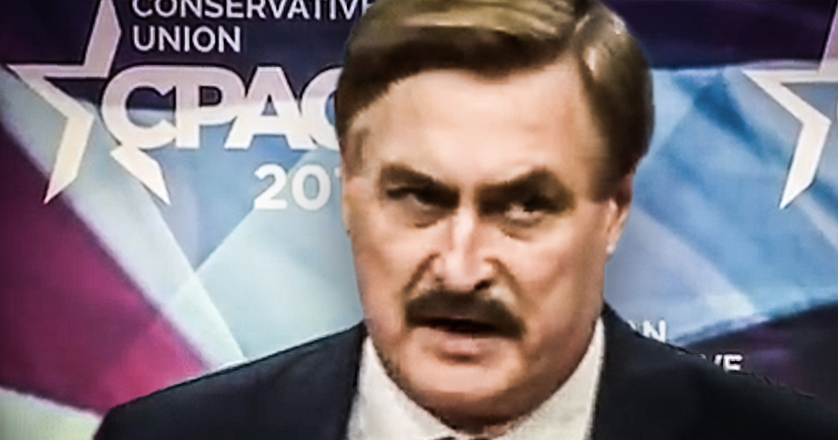 the my pillow guy made a complete ass