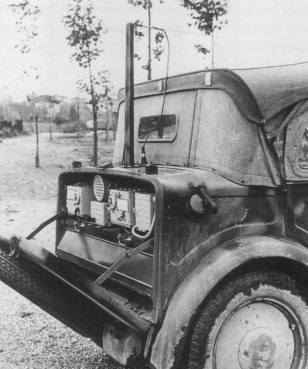Fiat 508CM Radio