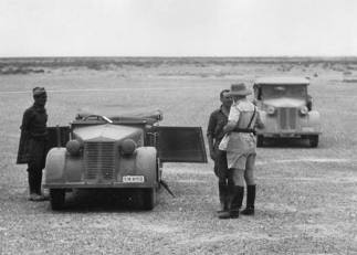 Fiat 508CM Africa two staff cars