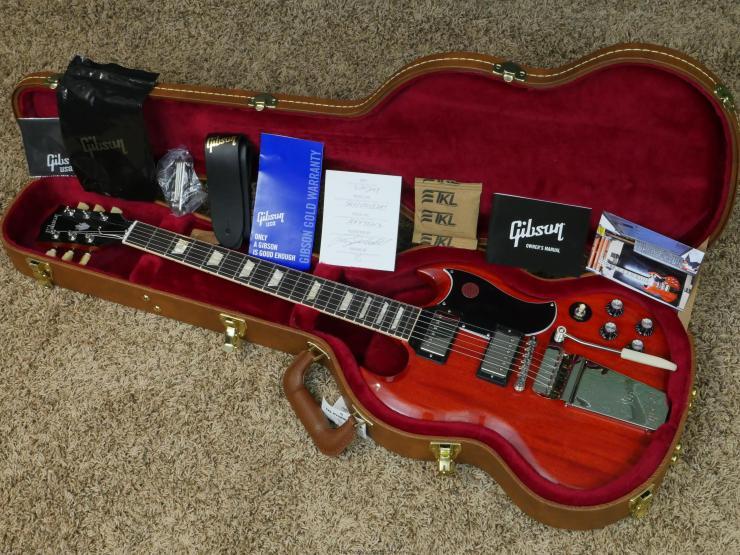 2019 Gibson Original Collection '61 SG Standard Maestro
