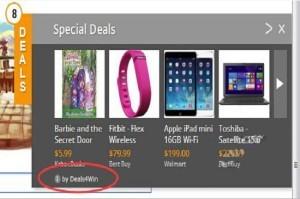 Deals4Win ads