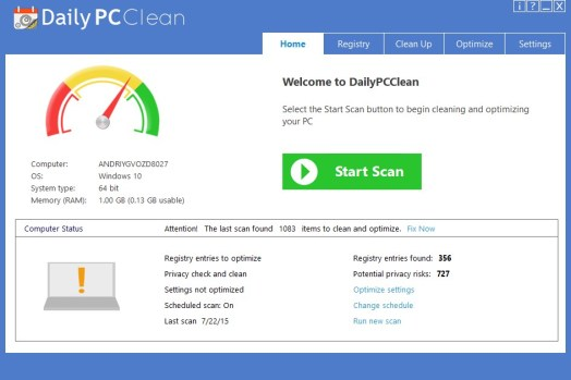 Daily PC Clean