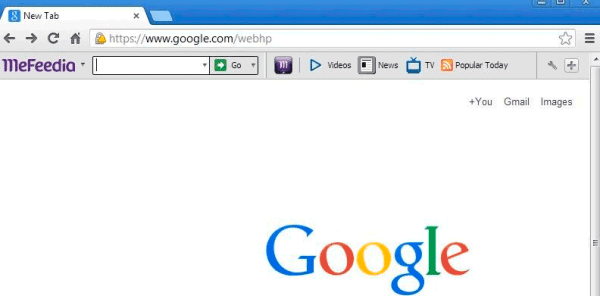 Mefeedia Toolbar