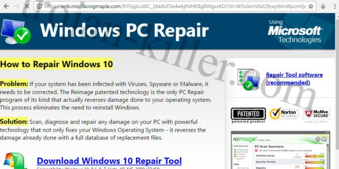 pc scan & repair tool windows 10
