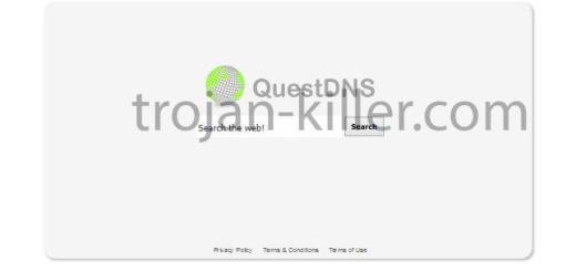 rimozione QuestDNS.com