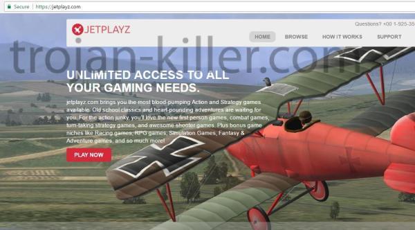 remove Jetplayz.com virus