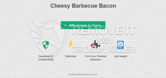 remove Cheesy Barbecue Bacon virus