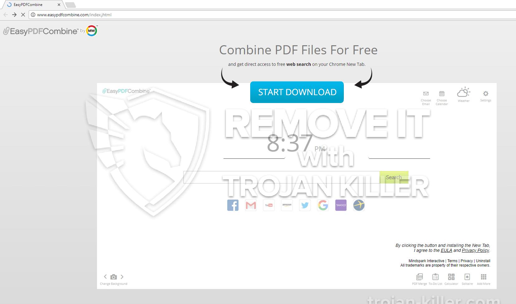 remove easypdfcombine.com virus