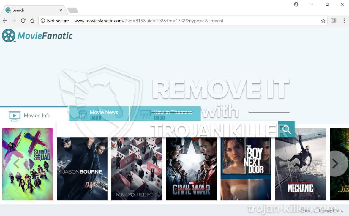 remove moviesfanatic.com virus