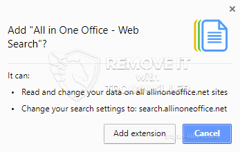 remove All in One Office - Web Search virus