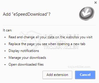 remove eSpeedDownload virus