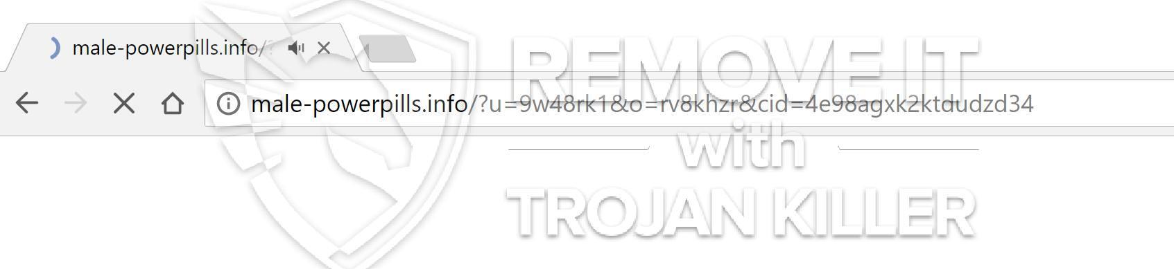 remove Male-powerpills.info virus