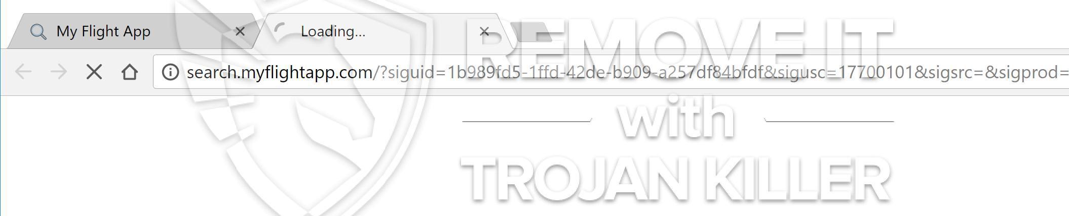 remove Search.myflightapp.com virus