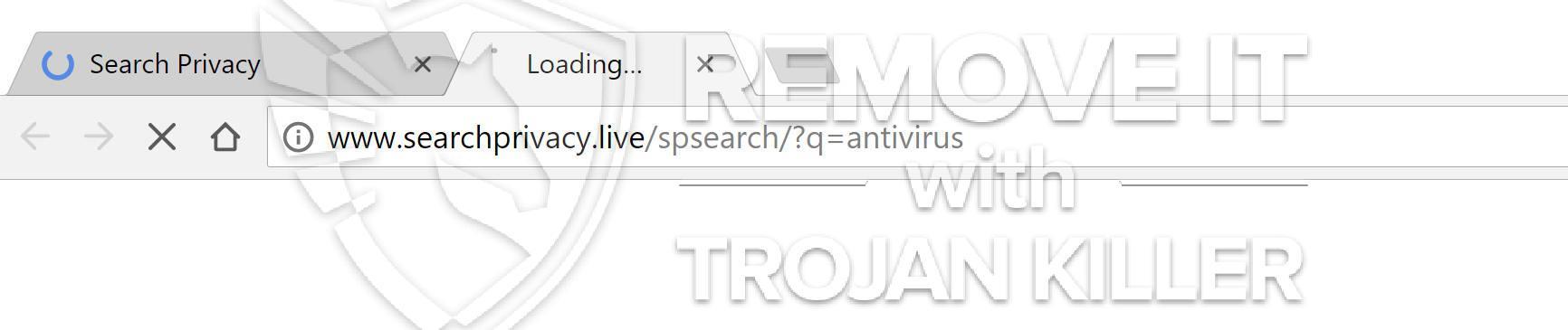 remove SearchPrivacy.live virus