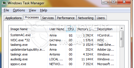 remove SystemAc.exe virus