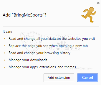 remove BringMeSports virus