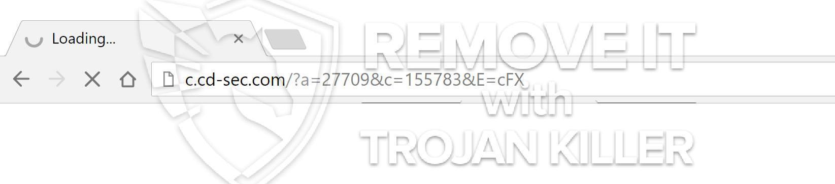remove C.cd-sec.com virus
