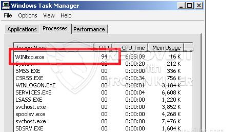 remove WINtcp.exe virus