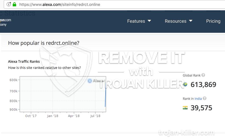 remove Redrct.online virus