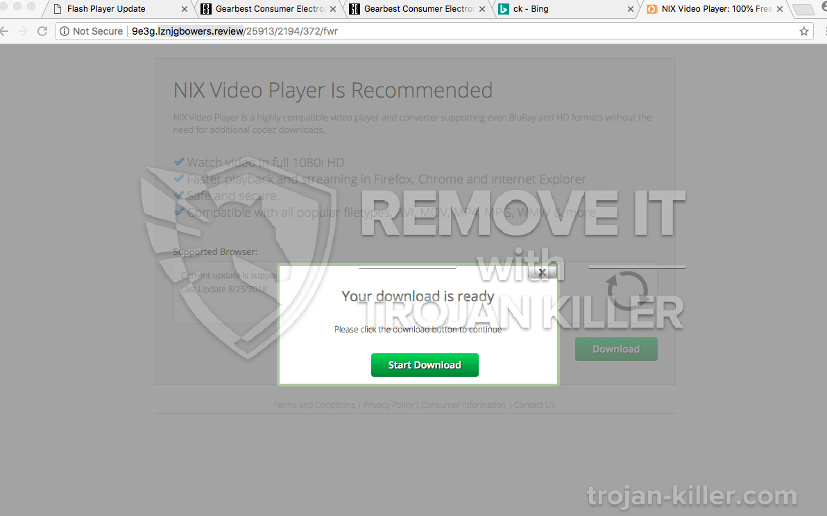 remove Lznjgbowers.review virus