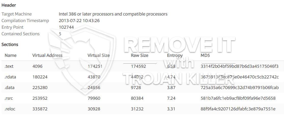 remove DLCBoot.exe virus