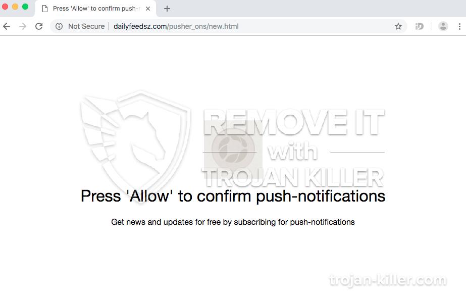 remove Dailyfeedsz.com virus