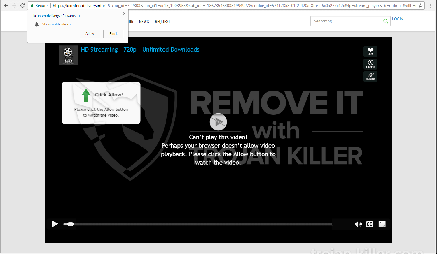 remove Kcontentdelivery.info virus