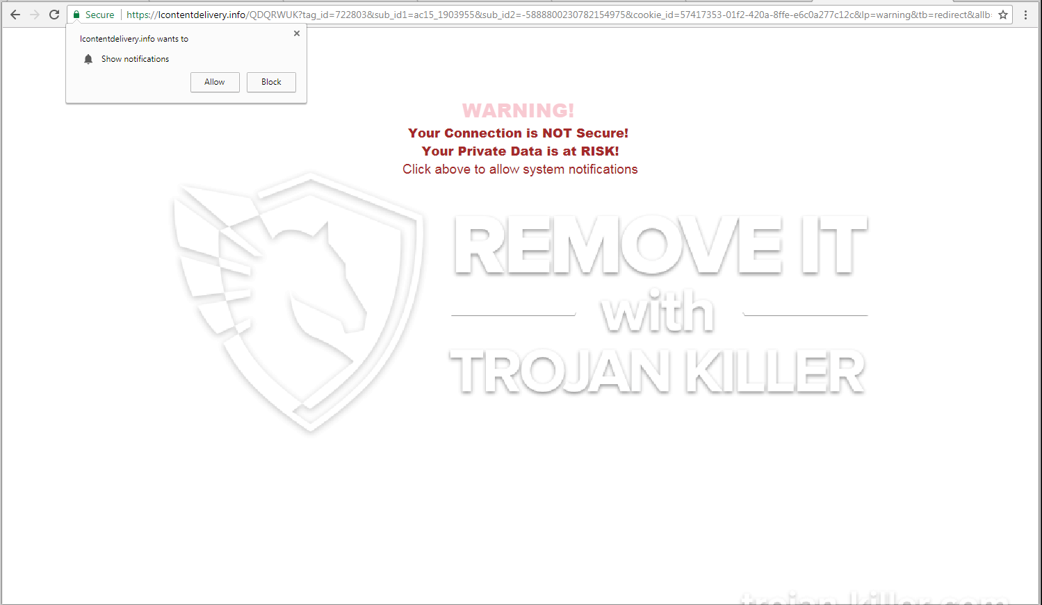 remove Lcontentdelivery.info virus