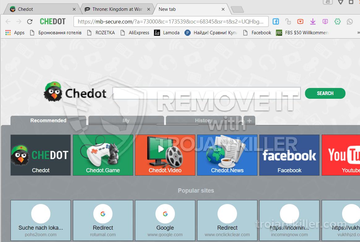 remove Mb-secure.com virus