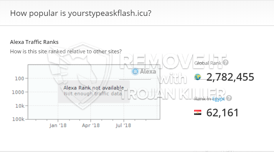 remove Yourstypeaskflash.icu virus